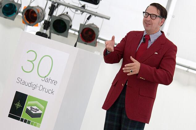 Jubiläum - Staudigl-Druck feiert 30-Jähriges Firmenjubiläum