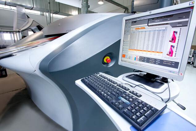 Digitaldruck Druckmaschine