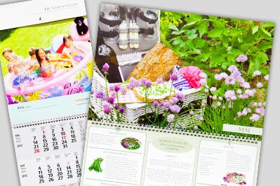 Doppelformat Kalender