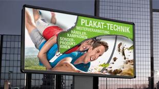 Plakat-Technik