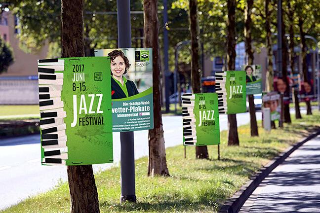 Klimaneutrale Allwetter-Plakate für Ihren perfekten Werbeauftritt
