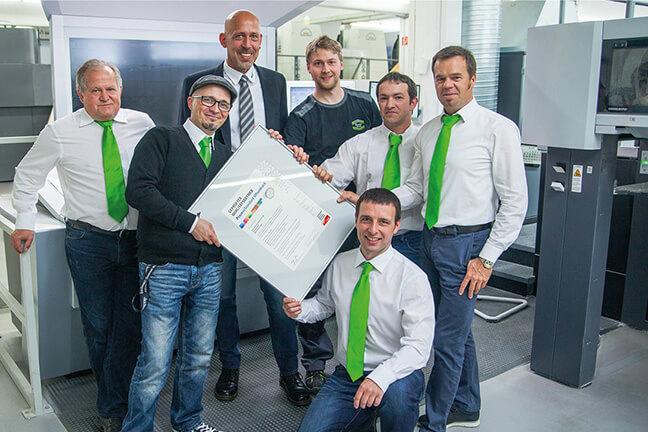 Staudigl-Druck als erster in Bayern nach der neuen PSO-Norm zertifiziert