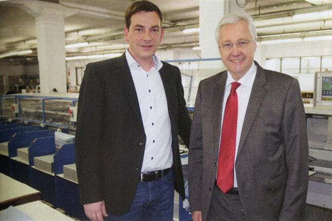 Staudigl-Druck Donauwörth nutzt MKW Rapid UT B2 zur Plakat-Zusammenführung