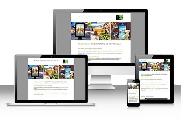 Neue Homepage von Staudigl-Druck