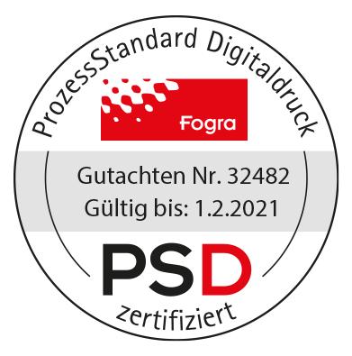 PSD-Zertifizierung Staudigl-Druck