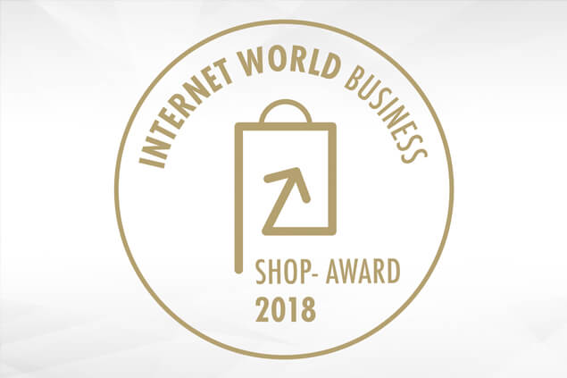 INTERNET WORLD Business Shop-Award 2018