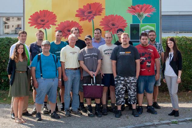 Staudigl-Druck begrüßt die Werkstatt Polsingen zur Betriebsbesichtigung