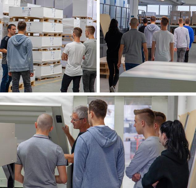 Auszubildende 2018 bei der Firmen-Ralley | Staudigl-Druck