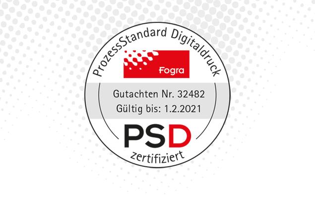 PSD-Zertifizierung | Staudigl-Druck