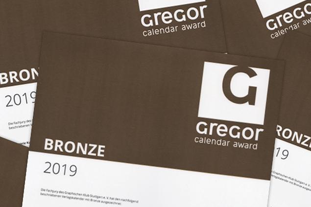 Gregor Calendar Award 2019