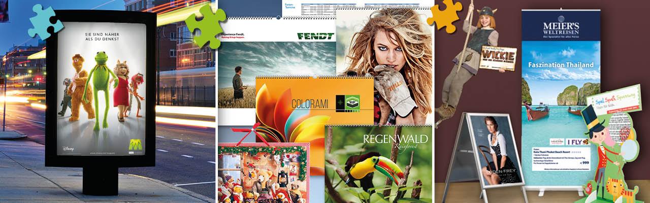 Plakate – Kalender – Werbetechnik